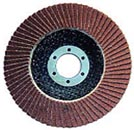 Aluminum Oxide flap disc,with fiberglass backing pad